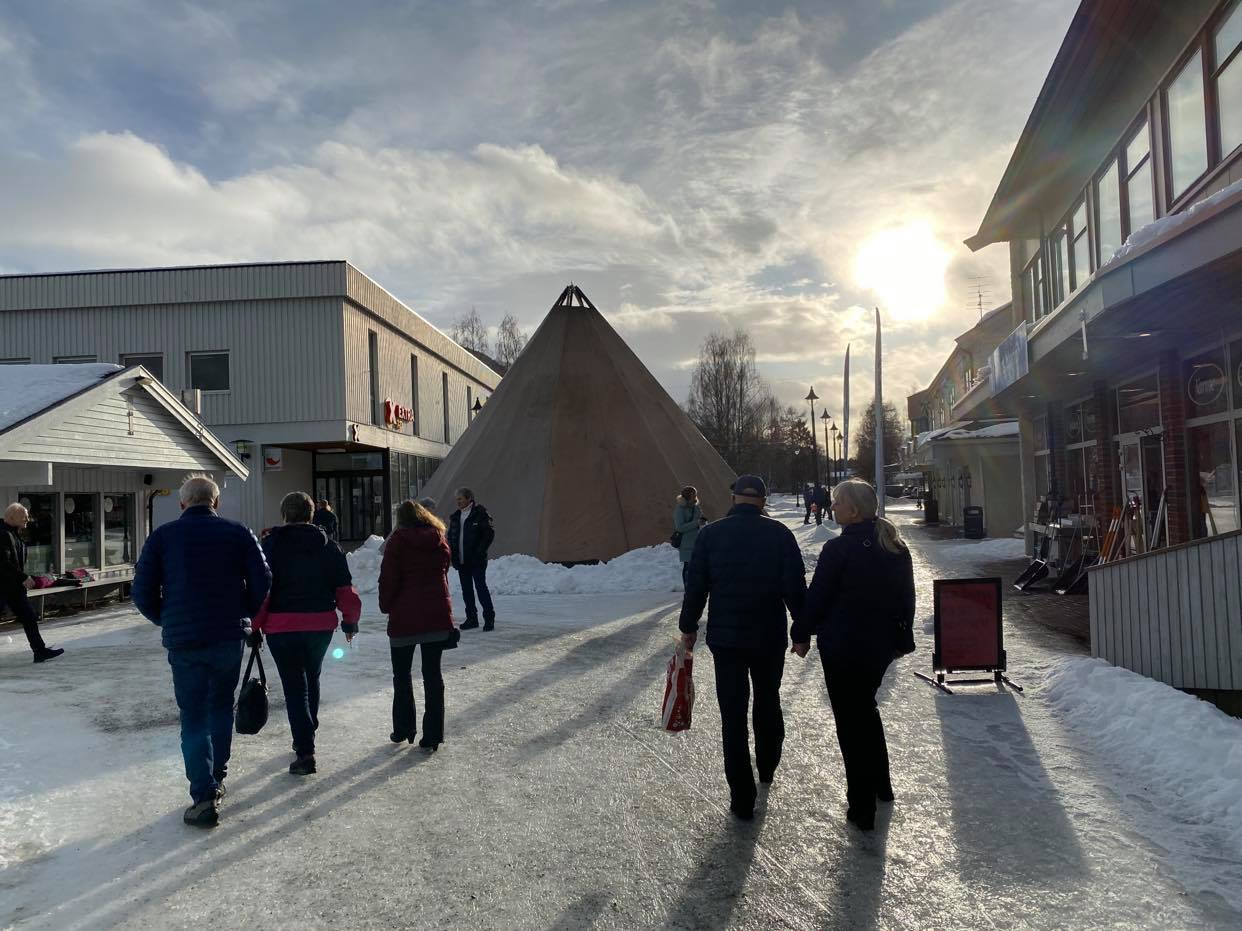 Slik fortalte vi om tradisjonsmat under Blåfrost-festivalen