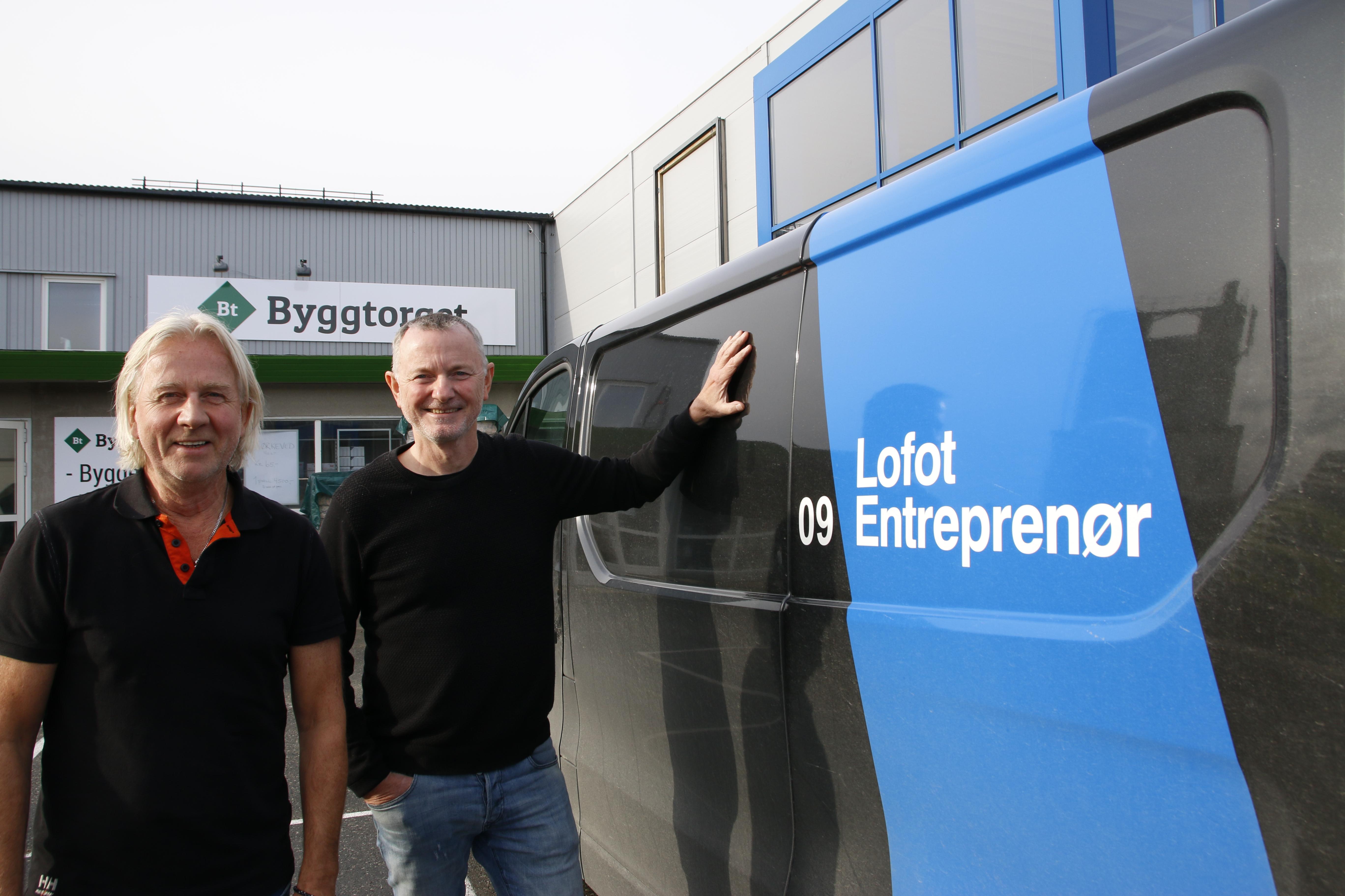 I dag forteller vi om: Lofot Entreprenør - nytt Systemhusmedlem